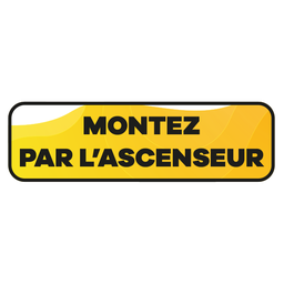 [LT-AS-1] Montez ascenseur 60x18cm
